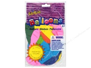"PNL Balloons Funsational 7"" 20pc Astd"
