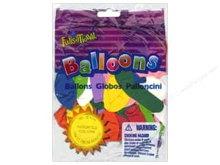 "PNL Balloons Funsational 7"" Assorted 50pc"