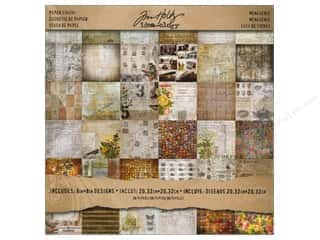 Tim Holtz Idea-ology Paper Stash 8x8 Menagerie
