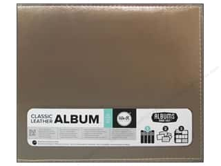 Brandtastic Sale We R Memory Keepers: We R Memory Keepers 3-Ring Album 12 x 12 in Leather Gold