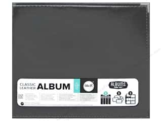 We R Memory Keepers Album 12 x 12 in. Leather  Platinum
