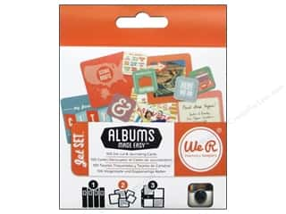 Scenics $2 - $4: We R Memory Cards Albums Made Easy Instagram Jet Set