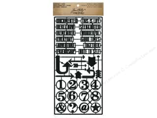 Tim Holtz Idea-ology Alpha Parts Framed