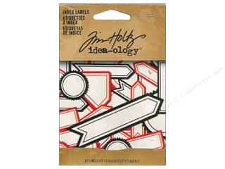 Tim Holtz Idea-ology Index Labels