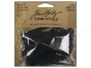 Rubber / Elastic Bands Hot: Tim Holtz Idea-ology Elastic Loops