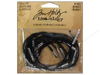 Rubber / Elastic Bands: Tim Holtz Idea-ology Elastic Bands