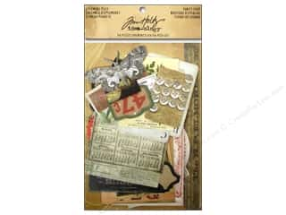 Tim Holtz Family: Tim Holtz Idea-ology Ephemera Thrift Shop