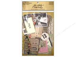 Tim Holtz Paper Die Cuts / Paper Shapes: Tim Holtz Idea-ology Ephemera Pack Expedition