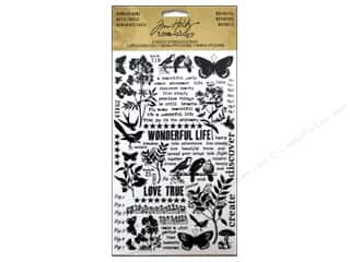 Joy Flowers: Tim Holtz Idea-ology Remnant Rubs Botanical
