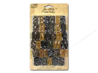 Tim Holtz Brown: Tim Holtz Idea-ology Letterpress