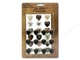 Mother's Day Gift Ideas $0 - $5: Tim Holtz Idea-ology Heart Charms