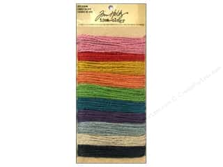 Jute Cording/Rope Green: Tim Holtz Idea-ology Jute String