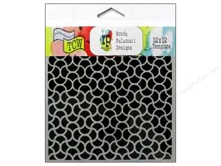 Clearance The Crafters Workshop Template: The Crafter's Workshop Template 12 x 12 in. Ripples