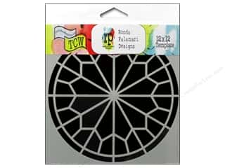 The Crafter's Workshop Template 12 x 12 in. Rose Window