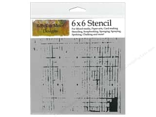Crafter's Workshop, The Templates: The Crafter's Workshop Template 6 x 6 in. Sketch Grid