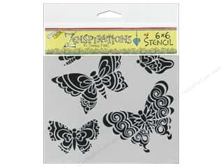 The Crafters Workshop Template 6x6 Butterflies