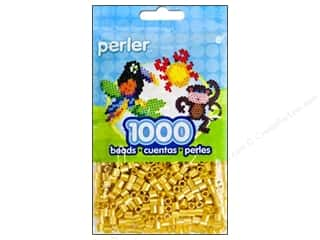 Perler Fused Bead Pkg Pearl Stripe 1000pc Gold