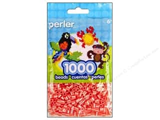 Kids Crafts Hot: Perler Beads 1000 pc. Pearl Stripe Hot Coral