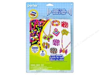 Hot $6 - $9: Perler Fused Bead Kit Neon Jewelry