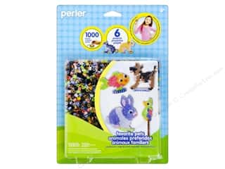 Pets Brown: Perler Fused Bead Kit Favorite Pets