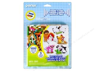Perler Animals: Perler Fused Bead Kit Barn Animals