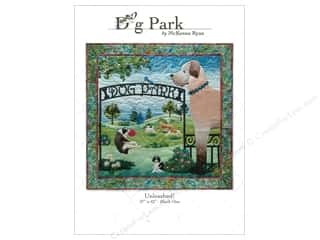 Clearance Patterns: Pine Needles Dog Park Unleashed! Pattern