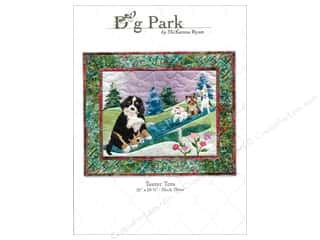 Patterns Clearance: Pine Needles Dog Park Teeter Tots Pattern