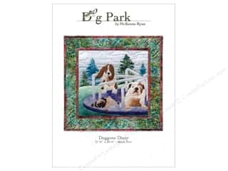 Clearance Patterns: Pine Needles Dog Park Doggone Dizzy Pattern