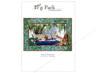 Patterns Clearance: Pine Needles Dog Park Bench Warmers Pattern