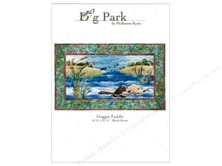 Pets Books & Patterns: Pine Needles Dog Park Doggie Paddle Pattern