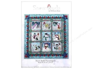 Clearance Patterns: Pine Needles Snow Buds Pieced Pattern