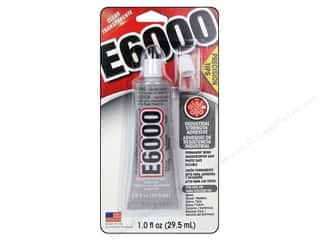 Glues/Adhesives: Eclectic Adhesive E6000 Precision Tip Glue 1oz Cd