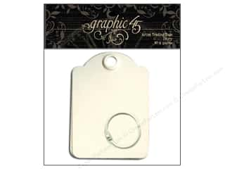 Scrapbook / Photo Albums Projects & Kits: Graphic 45 Staples Artist Trading Tags Ivory
