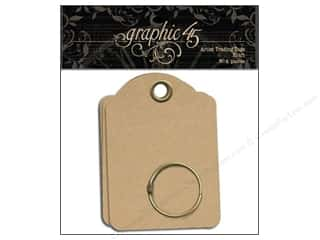 Graphic 45 $5 - $15: Graphic 45 Staples Artist Trading Tags Kraft
