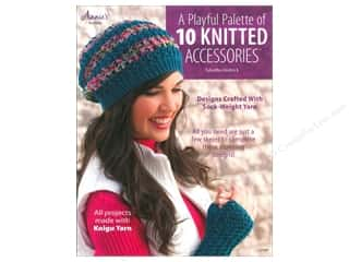 Yarn, Knitting, Crochet & Plastic Canvas Annie's Attic: Annie's A Playful Palette Of 10 Knitted Accessories Book by Tabetha Hedrick