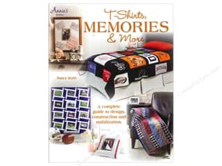 Sewing Construction Annie's Attic: Annie's T-Shirts Memories & More Book by Nancy Scott