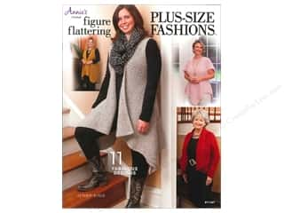Yarn, Knitting, Crochet & Plastic Canvas Annie's Attic: Annie's Figure Flattering Plus Size Fashions Book by Jenny King
