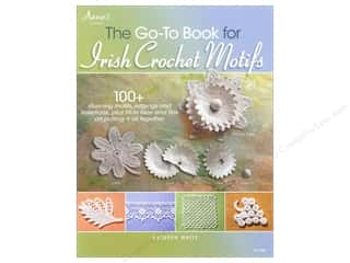 knitting books: Annie's The Go To Book For Irish Crochet Motifs Book by Kathryn White