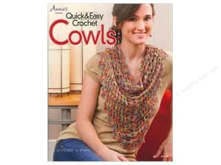 Yarn, Knitting, Crochet & Plastic Canvas Annie's Attic: Annie's Quick & Easy Crochet Cowls Book