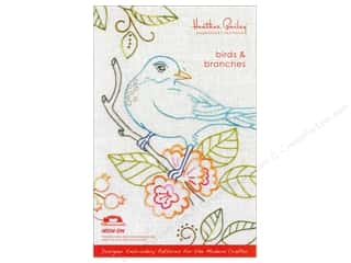 Heather Bailey LLC Sale: Heather Bailey Birds & Branches Embroidery Pattern