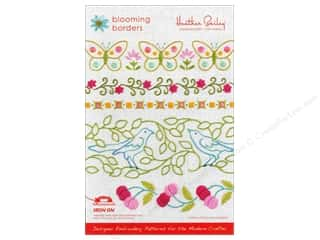 Tulip Irons: Heather Bailey Blooming Borders Embroidery Pattern