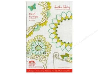 Fresh Flowers Embroidery Pattern