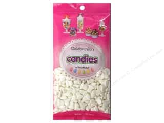 Edibles / Foods Wedding: SweetWorks Celebration Candies 12 oz. Shimmer White Bells