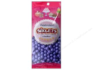 Edible Decorations / Icing / Sprinkles: SweetWorks Celebration Sixlets 14 oz. Shimmer Lavender