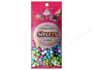 Edible Decorations / Icing / Sprinkles: SweetWorks Celebration Sixlets 14 oz. Shimmer Spring Mix