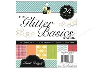 DieCuts Stacks 6x6 Glitter Basics