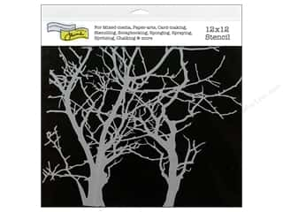 The Crafter's Workshop Template 12 x 12 in. Branches