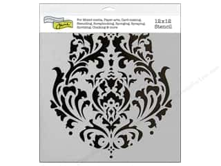 Templates Craft & Hobbies: The Crafter's Workshop Template 12 x 12 in. Brocade