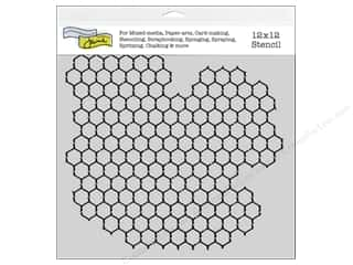 Crafter's Workshop, The: The Crafter's Workshop Template 12 x 12 in. Chickenwire Reversed