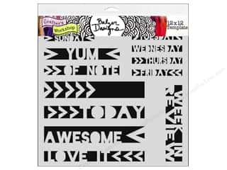 The Crafter's Workshop Template 12 x 12 in. Life Strips